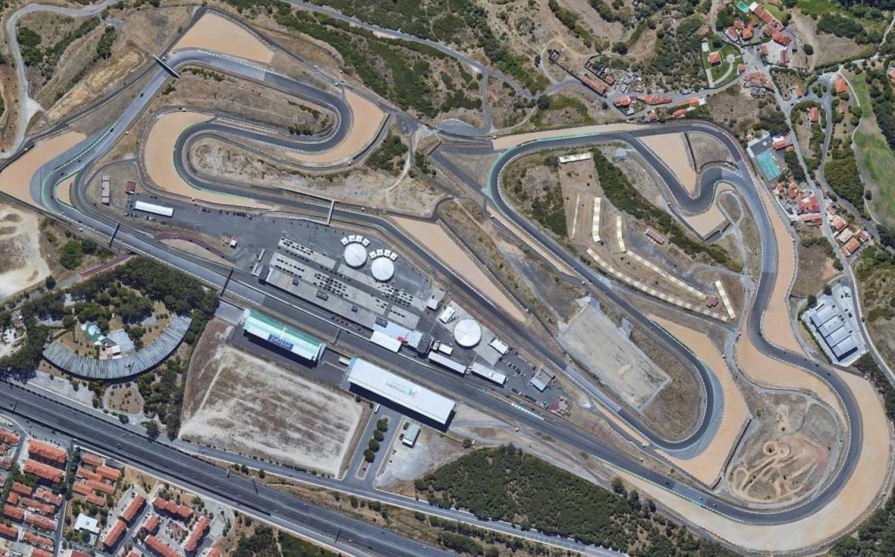 Estoril circuit layout