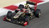 Lotus F1 E20 driven by Romain Grosjean Bahrain GP (2012)