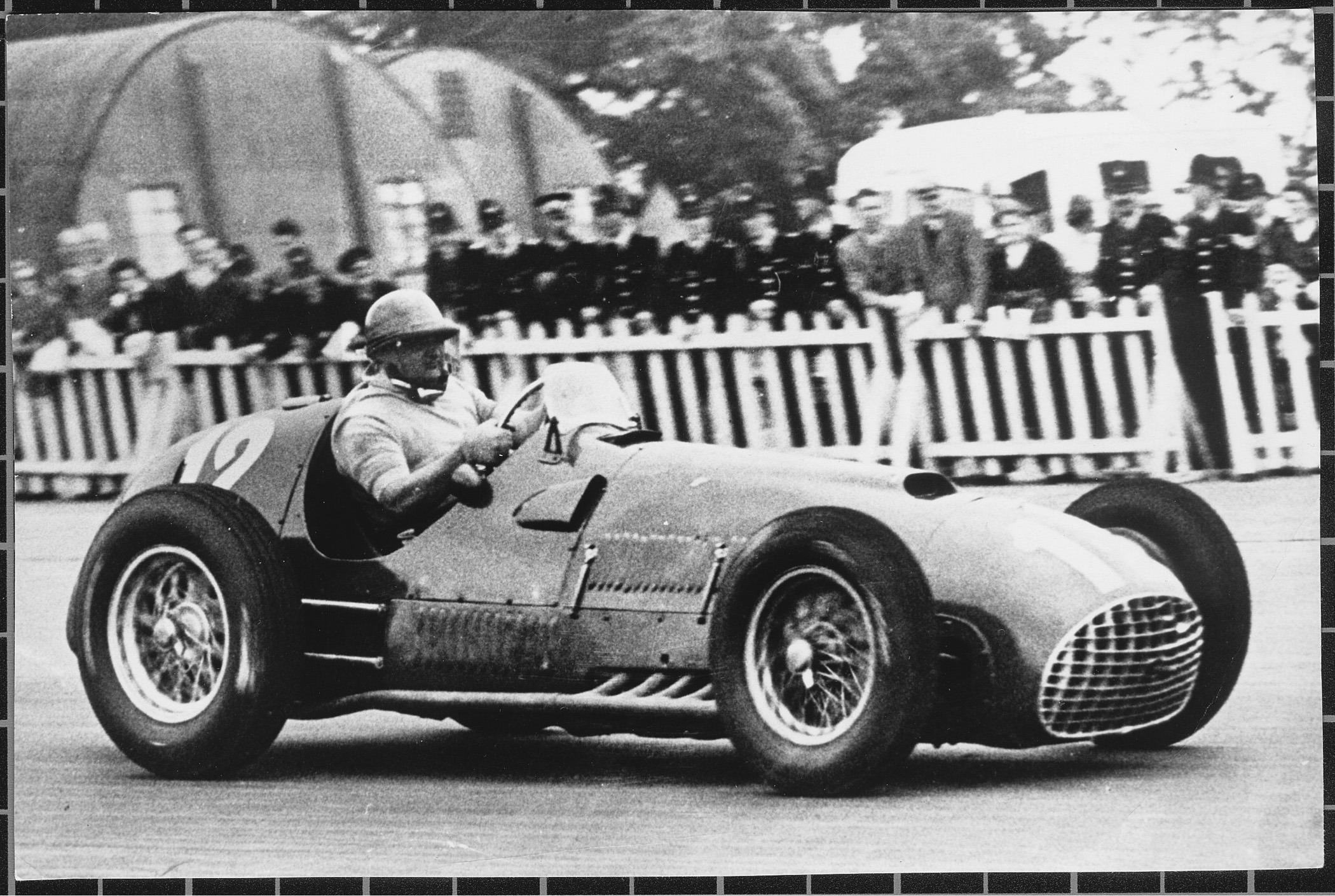 1000年へのフェラーリの道-1951年イギリスF1 GP