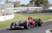 Toro Rosso STR3 driven by Sebastien Bourdais in Australia (2008)