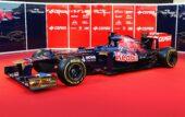 Toro Rosso STR7 car (2012)