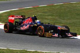 Toro Rosso STR8 car (2013)