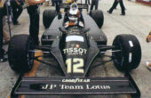Lotus 88 driven by Nigel Mansell in Austria (1981)