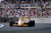 Lotus 99T driven Ayrton Senna British GP (1987)