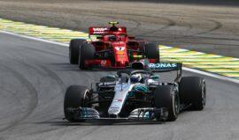Formula One - Mercedes-AMG Petronas Motorsport, Brazilian GP 2018. Valtteri Bottas