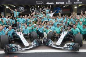 Mercedes Championship Celebration video