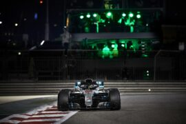 Formula One - Mercedes-AMG Petronas Motorsport, Abu Dhabi GP 2018. Lewis Hamilton