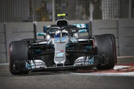 Formula One - Mercedes-AMG Petronas Motorsport, Abu Dhabi GP 2018. Valtteri Bottas