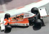 McLaren M23 driven by Emerson Fittipaldi in Monaco 1975