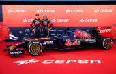 Toro Rosso STR10 Renault V6 car (2015) with Max Verstappen & Carlos Sainz