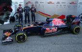 Toro Rosso STR11 Ferrari V6 car (2016) with Max Verstappen & Carlos Sainz
