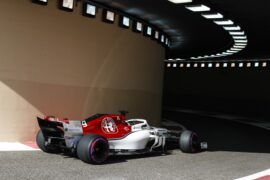 Marcus Ericsson Sauber Abu Dhabi GP F1/2018