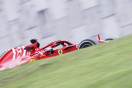 Sebastian Vettel Ferrari Brazil GP F1 2018