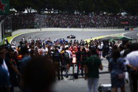 Starting grid Brazil GP F1 2018