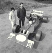 Tyrrell 001 with Jackie Stewart & Ken Tyrrell (1970)