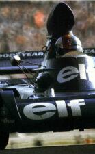 Tyrrell 004 driven by François Cevert on Spa in Belgium (1973)
