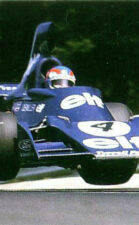 Tyrrell 005 driven by Patrick Depailler in France (1975)