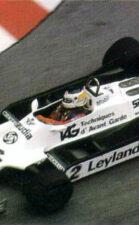 Williams FW07C driven by Carlos Reutemann in Monaco (1981)