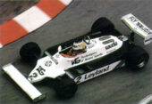 Williams FW07C driven by Carlos Reutemann in Monaco (1981)