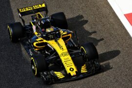 Artem Markelov (RUS) Renault Sport F1 RS18 Test and Development Driver. Formula One Testing, Wednesday 28th November 2018. Yas Marina Circuit, Abu Dhabi, UAE.