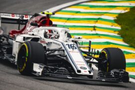 Charles Leclerc, Alfa Romeo Sauber C37 at Formula One World Championship Brazil 2018.