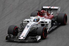 Marcus Ericsson, Alfa Romeo Sauber C37 at Formula One World Championship Brazil 2018.