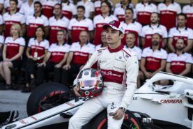 Charles Leclerc, Alfa Romeo Sauber C37 at Formula One World Championship, Rd21, Abu Dhabi Grand Prix 2018