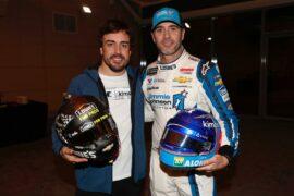 Jimmy Johnson & Fernando Alonso car swap