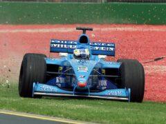 Benetton B200 driven by Giancarlo Fisichella in Melbourne Australia (2000)