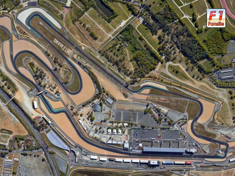 Bugatti Circuit layout Le Mans