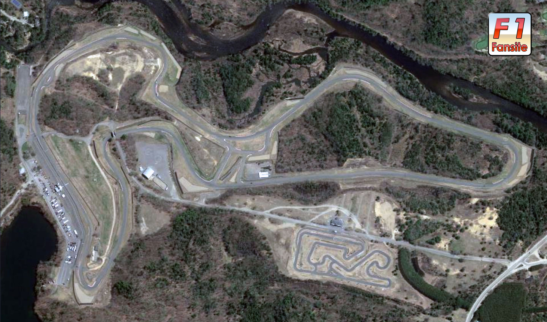 Circuit Mont Tremblant layout