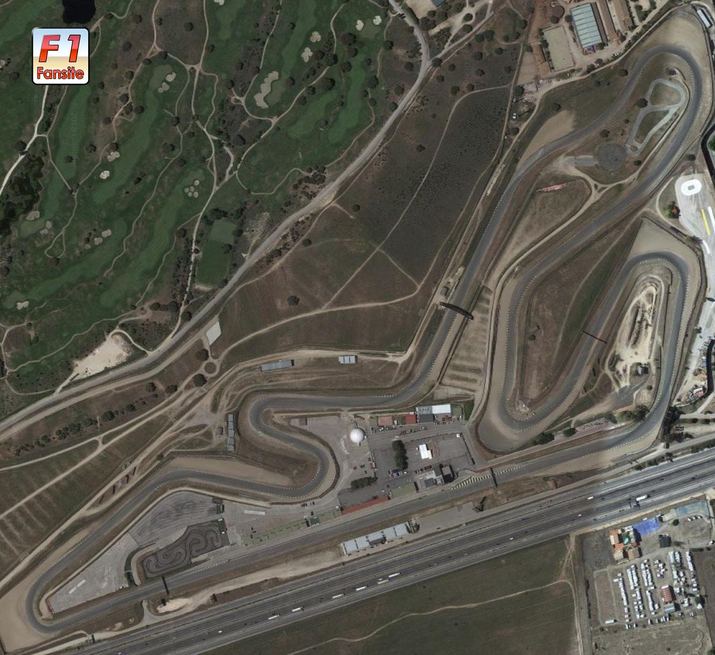 Circuito del Jarama layout