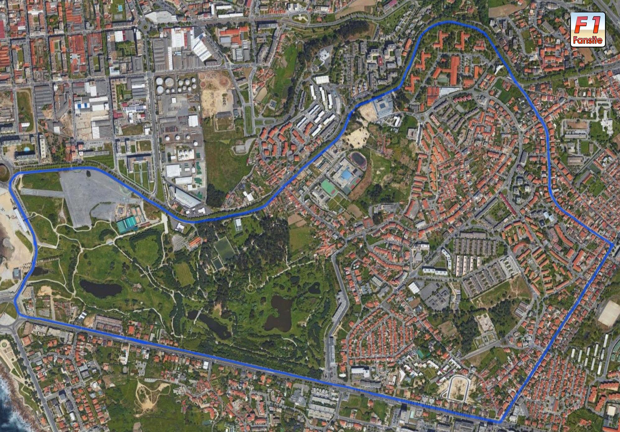 Circuito da Boavista layout