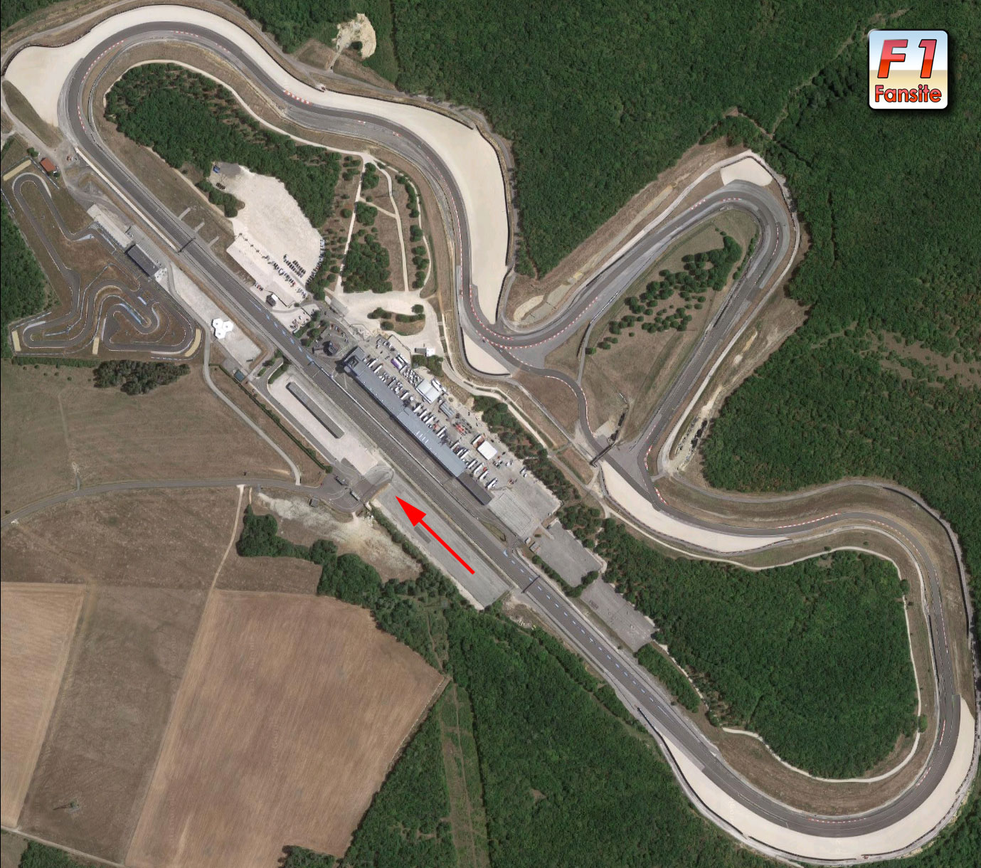 Dijon Prenois circuit layout