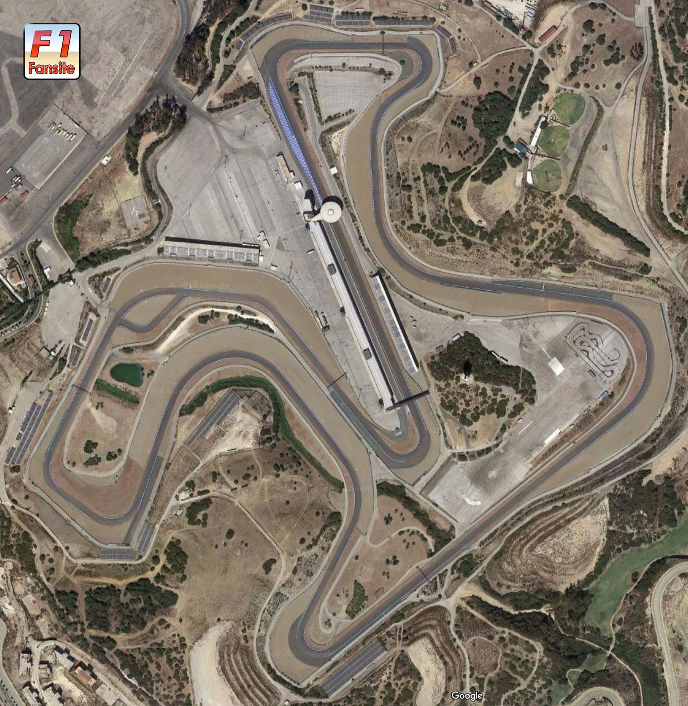 Jerez circuit layout