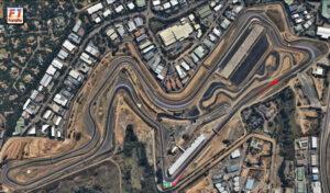 Kyalami circuit layout