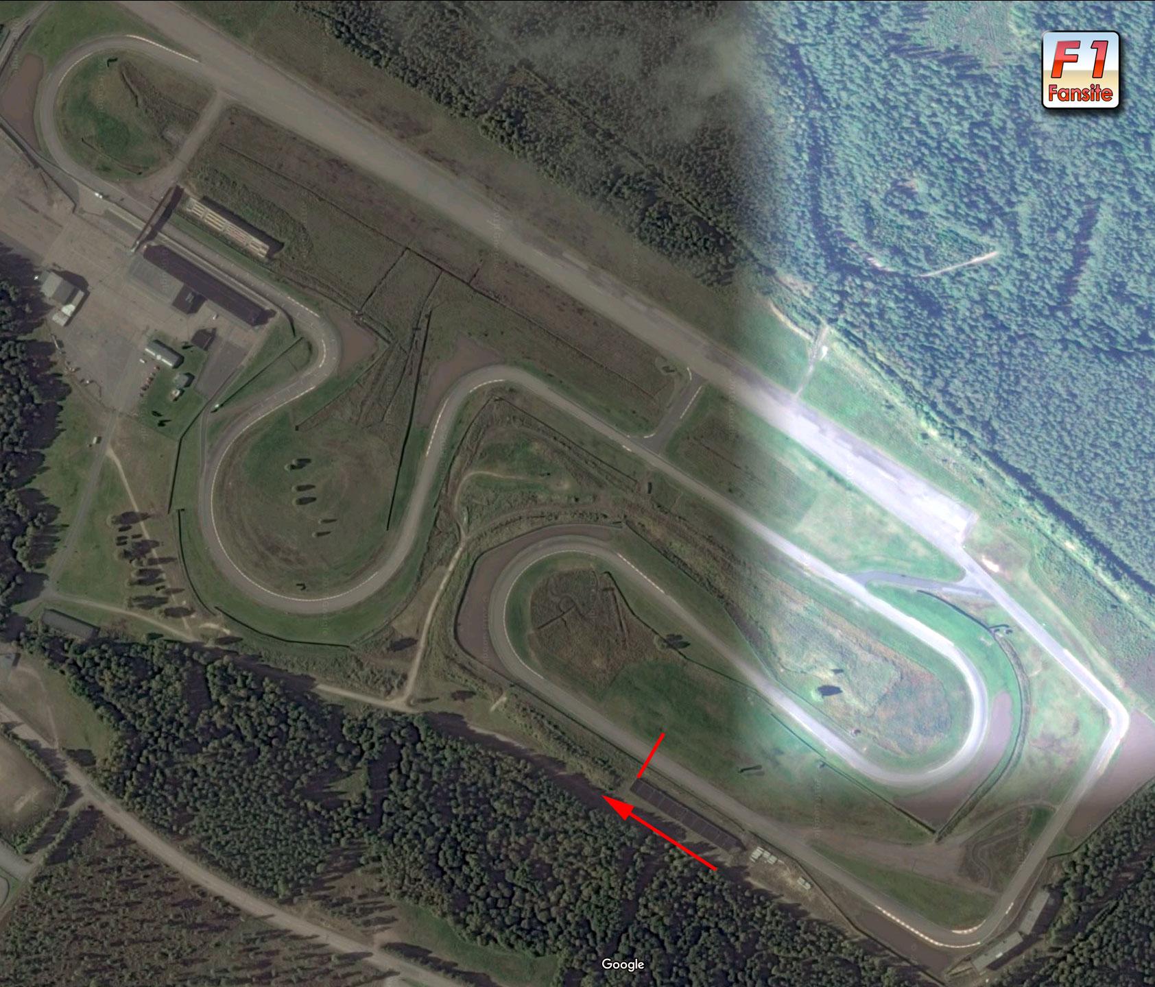 Scandinavian Raceway circuit layout