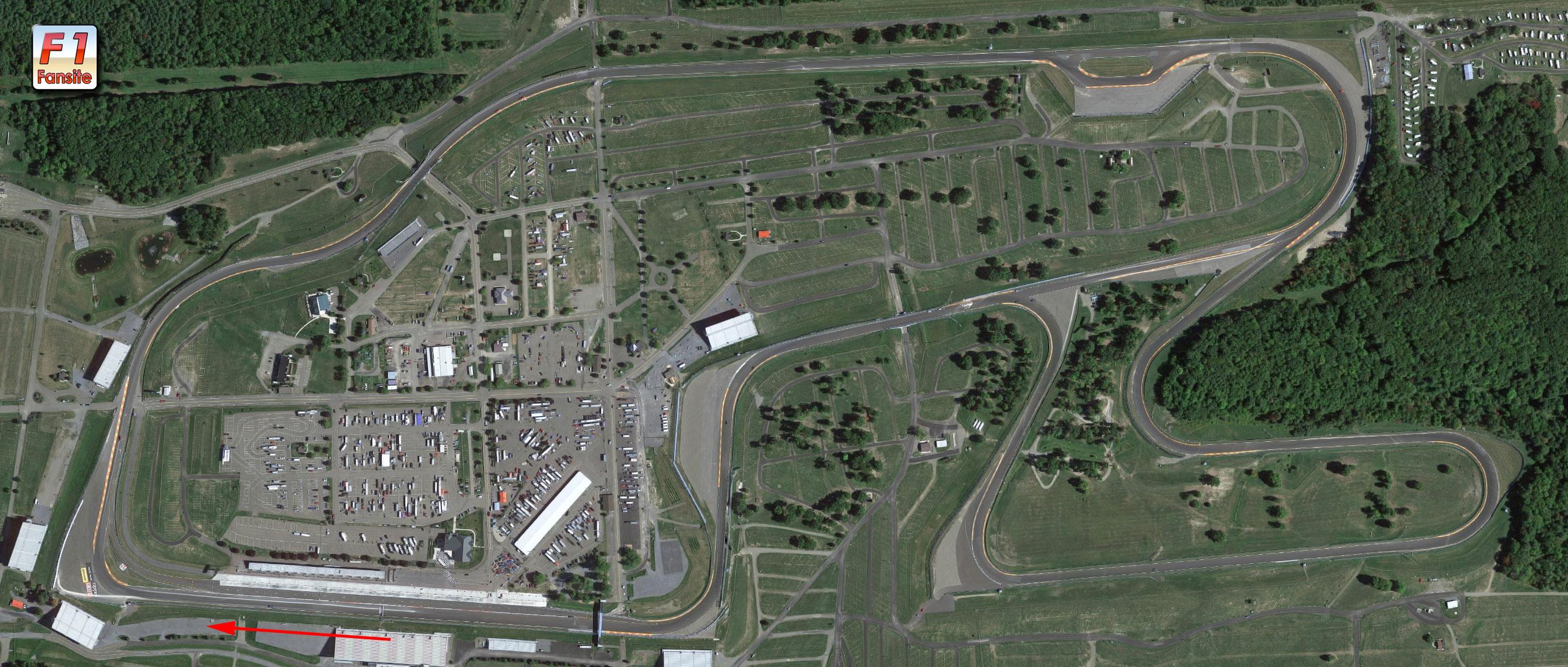 Watkins Glen circuit layout