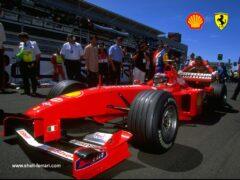 Schumacher crash Silverstone 1999