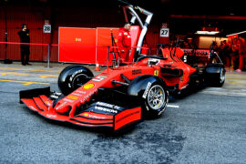 2019 1st day pictures Barcelona F1 Winter testing