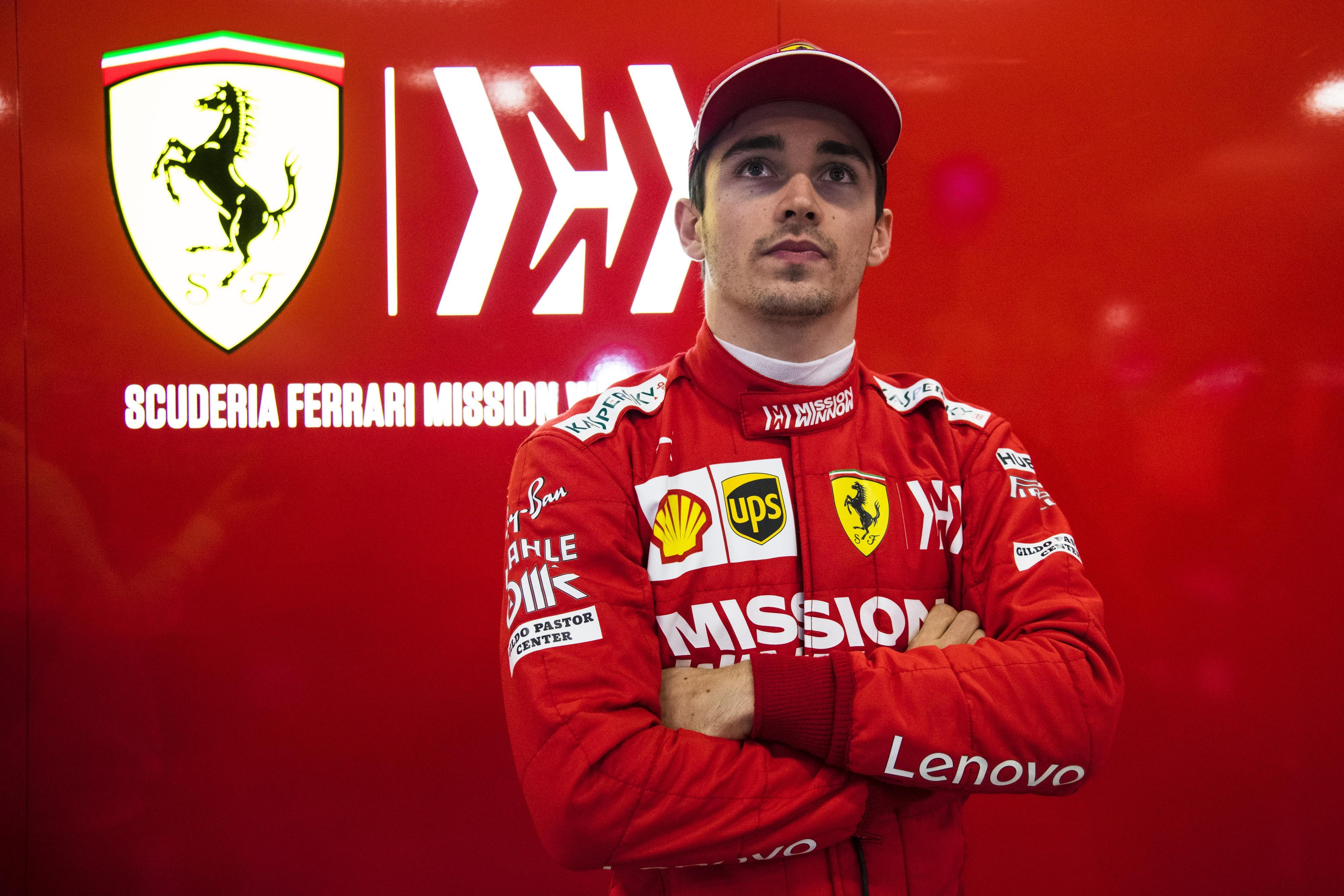 Leclerc Says His Number 2 Status Logical