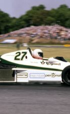 Alan Jones racing the Williams FW06 Ford in Buenos Aires (1978)