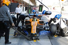 2019 5th day pictures Barcelona F1 Winter testing