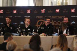 Haas sponsor sued over logo