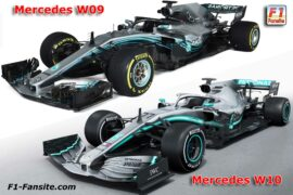 2019 Mercedes W10 F1 car launch pictures