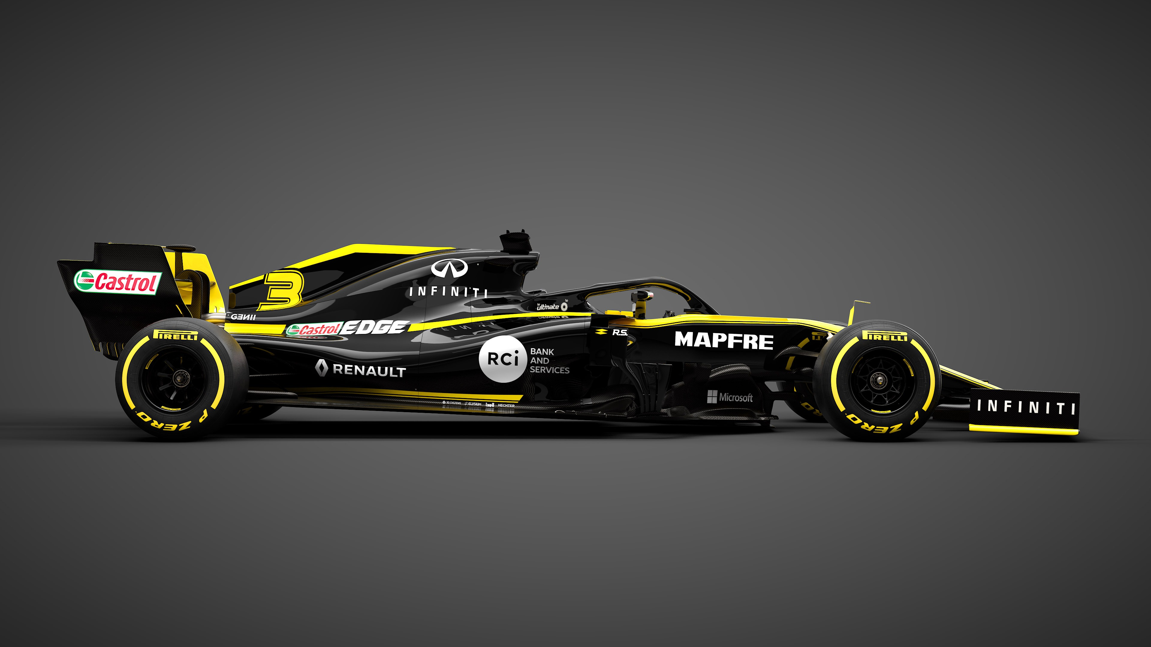 2019 renault rs19 f1 car launch pictures f1. Black Bedroom Furniture Sets. Home Design Ideas