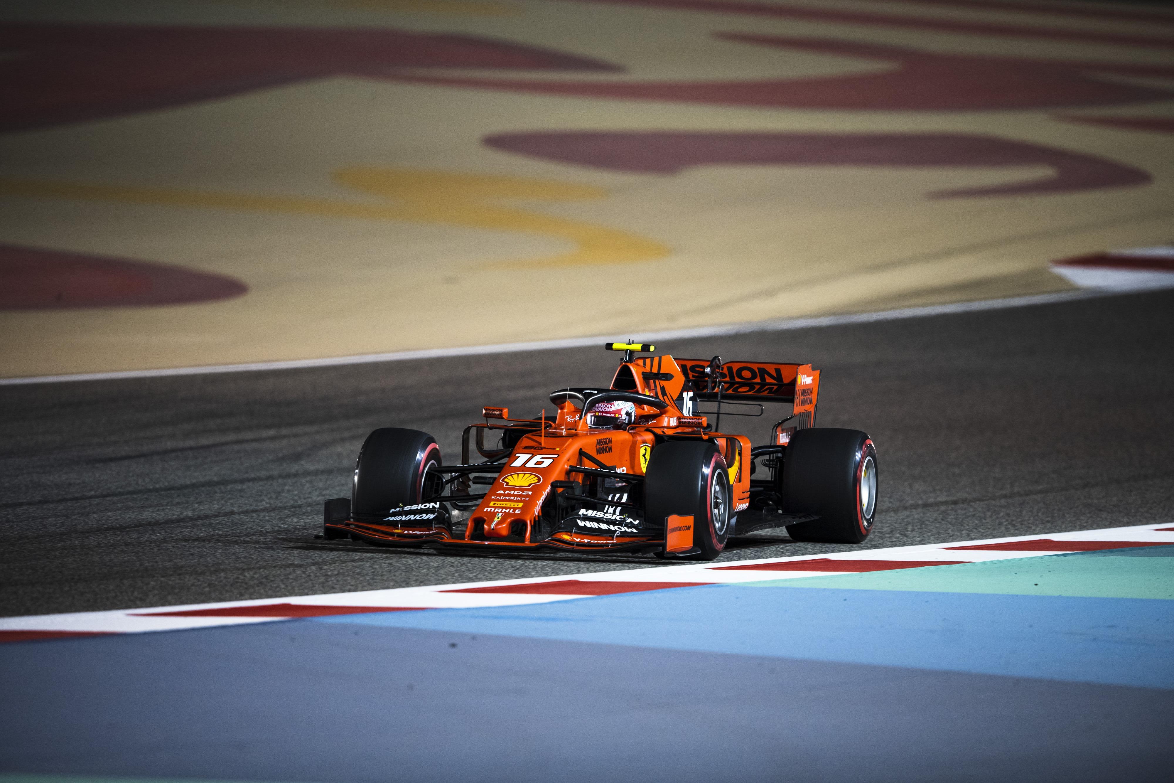 Lap times 3rd free practice 2019 Bahrain F1 GP