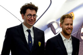 Vettel defends Ferrari boss Binotto