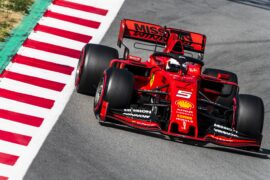 2019 8th day pictures Barcelona F1 Winter testing