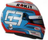 2019 George Russel helmet